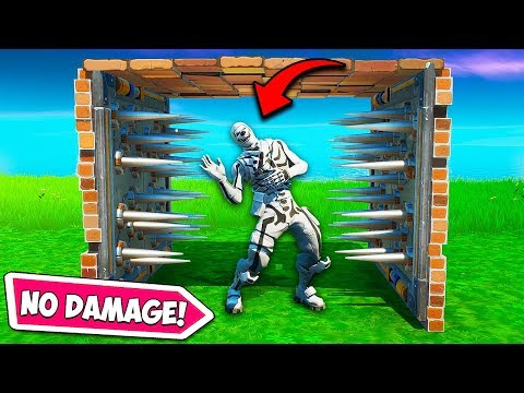 *new Trick* Take No Trap Damage!! – Fortnite Funny Fails And Wtf Moments! #718