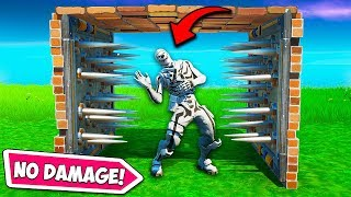 *NEW TRICK* TAKE NO TRAP DAMAGE!! - Fortnite Funny Fails and WTF Moments! #718