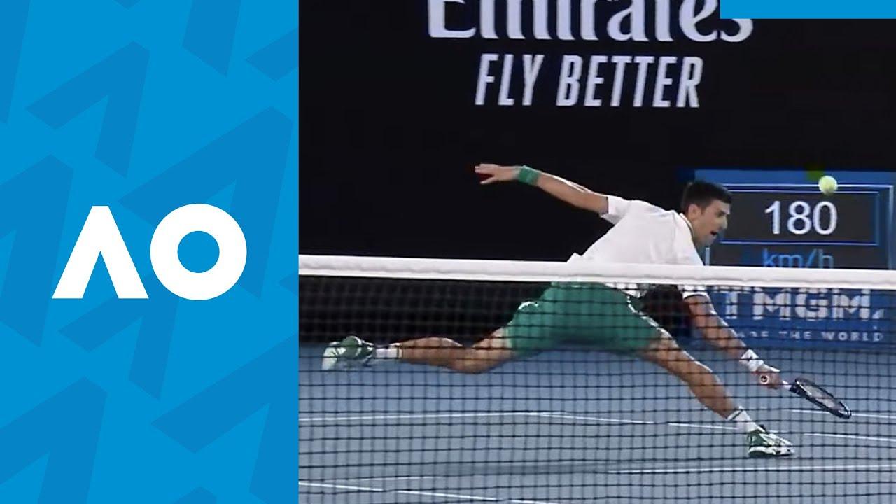 Novak Djokovic Top 10 Plays | Australian Open 2021