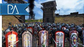 LEGENDARY FORT BATTLE  - Medieval Kingdoms Total War 1212AD Gameplay