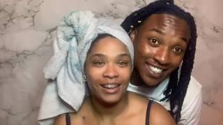 Boyfriend dies my hair!! | EPIC FAIL? | Dying natural hair