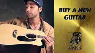 BUY A NEW GUITAR