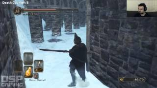 Dark Souls II DLC: Crown of the Ivory King pt10 - Ice Porcupines and Hexers