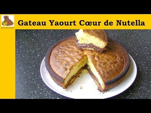 gateau-au-yaourt-avec-coeur-de-nutella---recette-rapide-et-facile