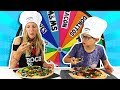 MYSTERY WHEEL OF PIZZA CHALLENGE!!!