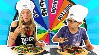 Download MYSTERY WHEEL OF PIZZA CHALLENGE!!! Mp3 and Videos