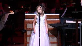 Jackie Evancho:  A Time For Us at her 2011 Summer Concert Tour in Atlanta.