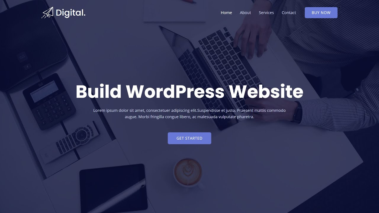 How To Make A WordPress Website With Bluehost 2021