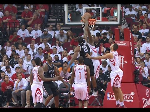 Kawhi and Harden Go Back-to-Back with Great Dunks   May 5, 2017