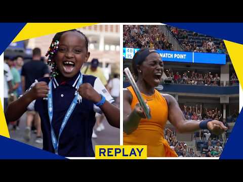 US Open Fans Imitate Serena Williams & Sloane Stephens