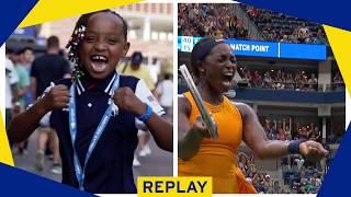 US Open Fans Imitate Serena Williams & Sloane Stephens