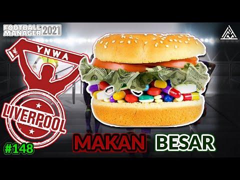 FM21 Liverpool | MAKAN Besar | Football Manager 2021 Malaysia Episode #148