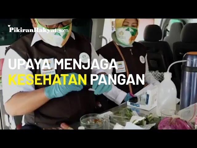 Dispangtan Kota Bandung Periksa Lalu Lintas Pangan di Bunderan Cibiru