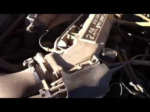 Ford bronco 2 cold start