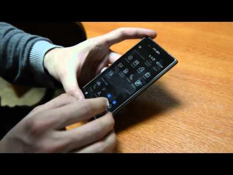 Обзор монохромного смартфона LG Prada 3.0 от Droider.ru