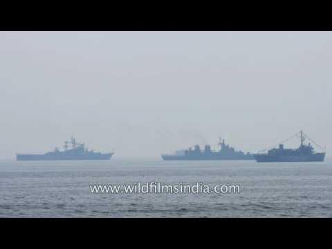 KRI Usman Harun-359 warship sails on India's Eastern Naval Command