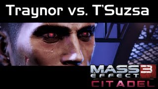 Mass Effect 3 - Citadel DLC - Traynor vs. T'Suzsa at Kepesh-Yakshi (Male Shepard)