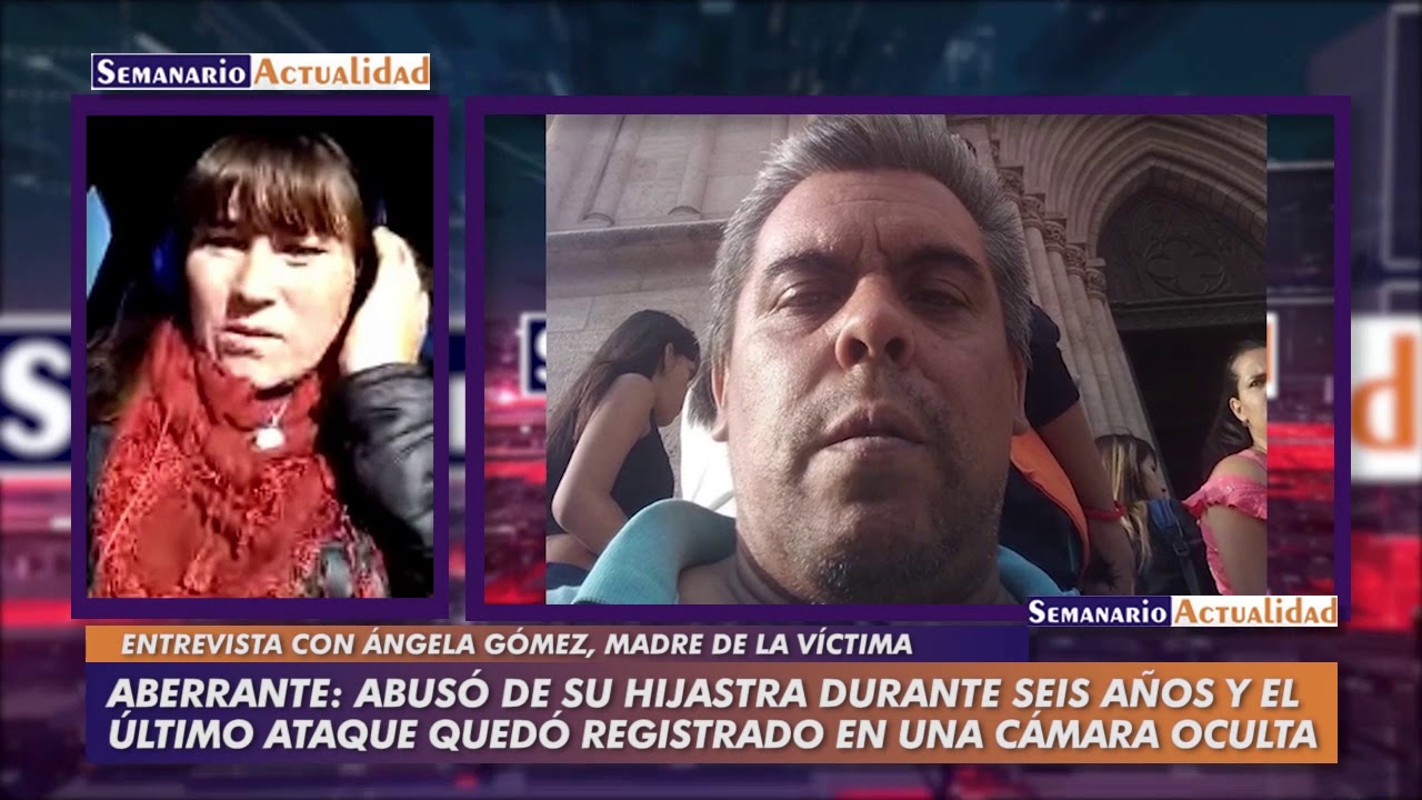 Abusó de su hijastra durante seis años y el último ataque quedó registrado en una cámara oculta