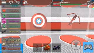 Roblox Avengers tycoon Full Build