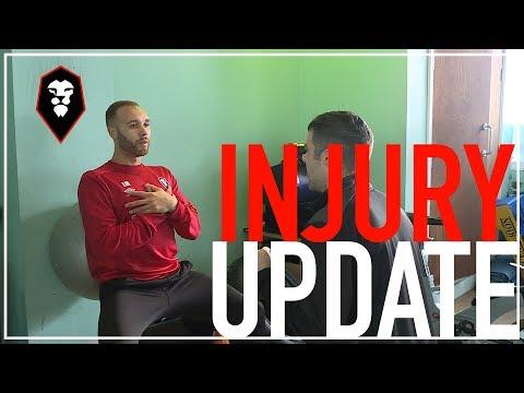 Injury update   Danny Livesey & Lois Maynard