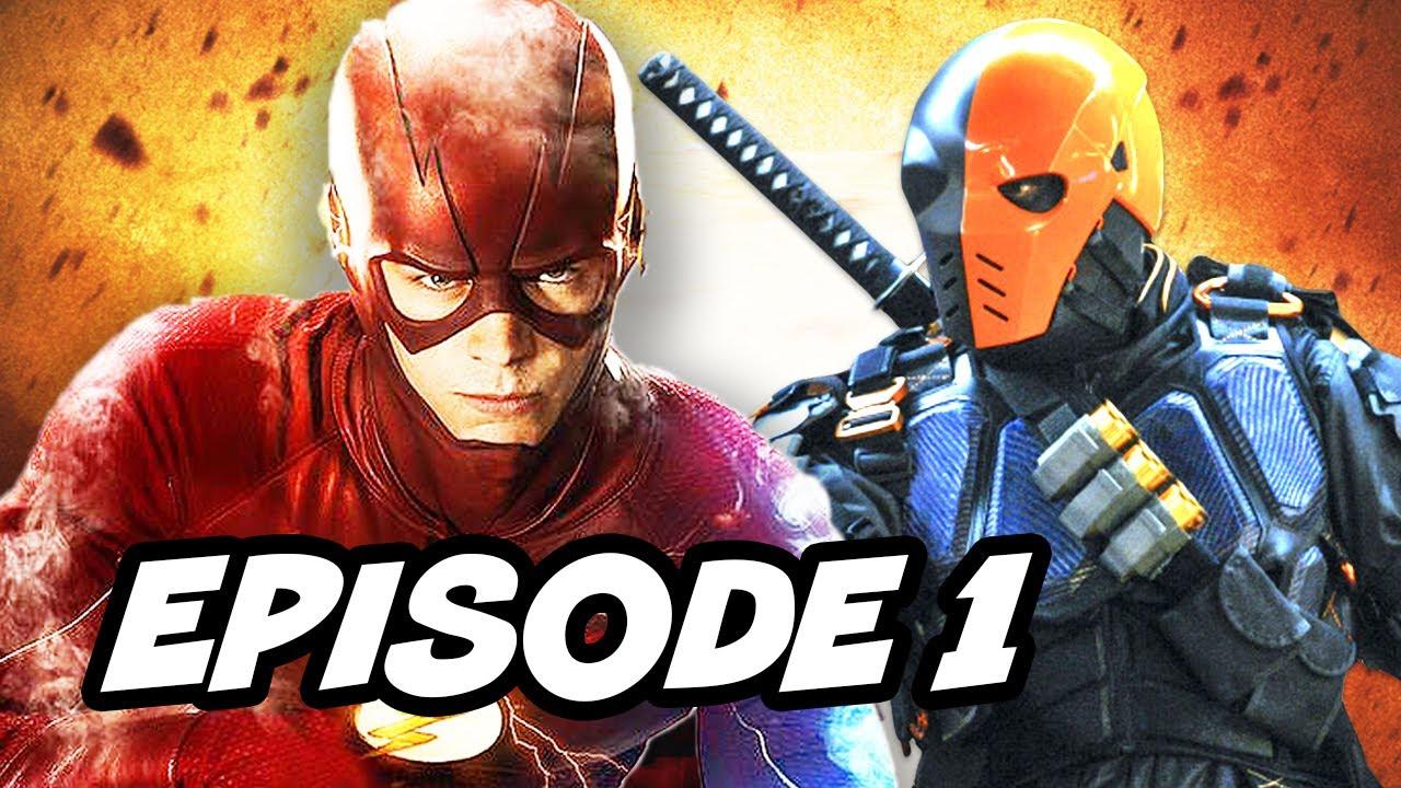 The Flash Season 4 Episode 1 And Titans Season 1 Comic