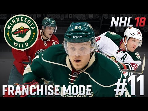 Trade Deadline/Y3 Sim - NHL 18 - GM Mode Commentary - Wild - Ep.11