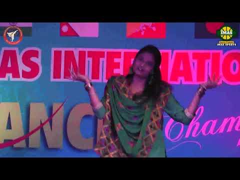Navjot Kaur From BackNo at IMAS International Dance Championship 10 Feb 2019