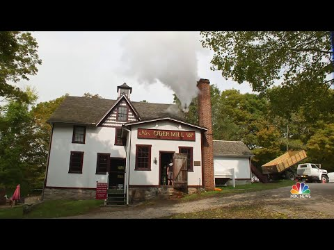 Inside America's Last Steam Powered Cider Mill | NBC Nightly News
