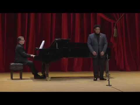 1st Place Winner of Houston Grand Opera 's  33rd annual Concert of Arias Key'mon W. Murrah