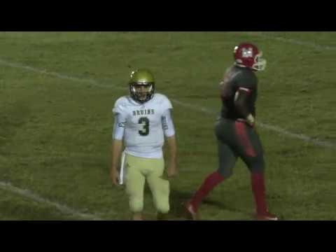 Layne Hatcher Game Highlight Pic at PA vs McClellan on 10/ 28/ 16