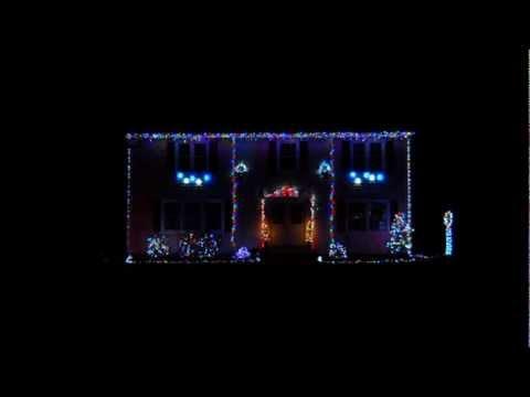 christmas light show 2012 van halen dreams lights on longhorn