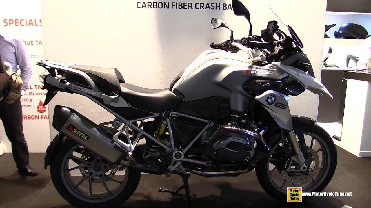 2015 bmw r1200 gs with carbon fiber crash barfullsix
