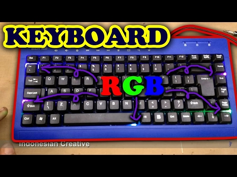 Create Backlight Keyboard Suitable To Save Spending Money