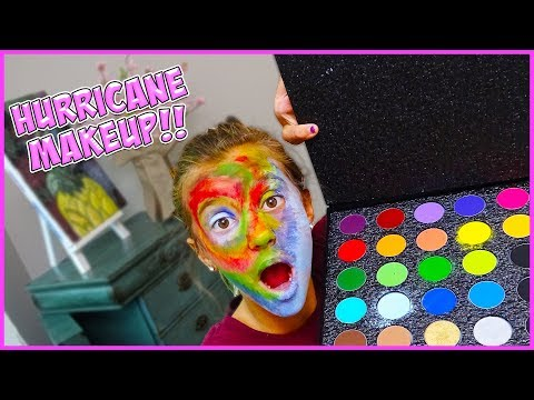 HURRICANE MAKEUP TUTORIAL!! It's Just JayJay!