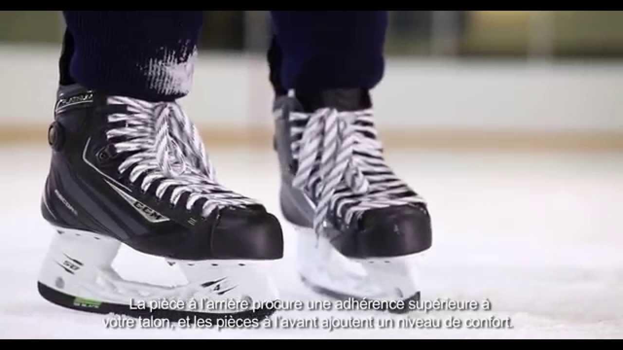 Platinum Du Pump Patin Avec Source Le Hockey De La Ccm Ribcor qIxUwgv