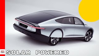 The Solar Powered Car Of The Future - Lightyear One