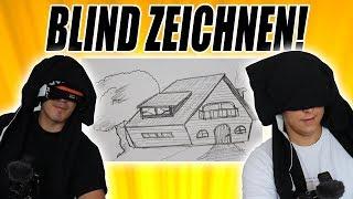 BLIND zeichnen! mit einfachPeter