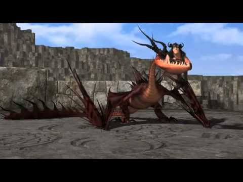 HTTYD Riesenhafter Alptraum Training(1) - YouTube