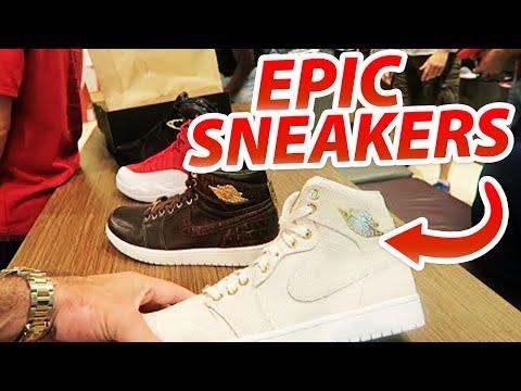 Epic Sneaker Vlog in Dubai Mall!!!