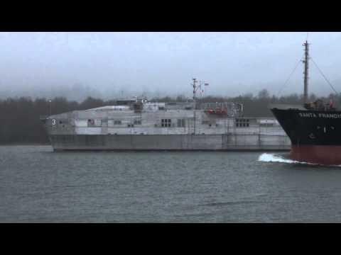 USNS Millinocket (JHSV-3) Full Package: 1-4-15