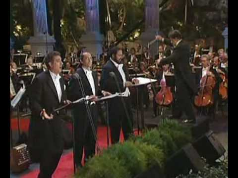 The 3 tenors in concert 1994 - Be My Love, Marechiare