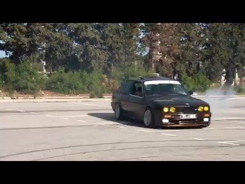 "Drift Test Day e30  3.0 L  ""M.I.Tunisia""  [Full HD]"