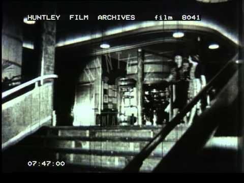 Golden days of ocean liner travel - Film 8041