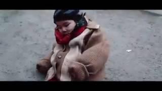 Аянышты ролик. Жетім балалар жыламасыншы. Жетімнің кеудесінен итермей басынан сипайық ағайын