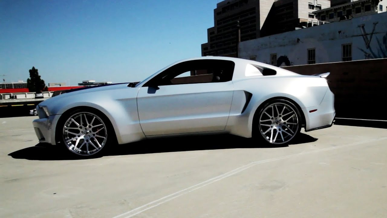 Need for speed movie ▻ special ford mustang