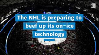The NHL is all aglow about the future of puck- and player-tracking data