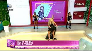 Смотреть клип Maria Andria - Baila Conmigo La Teo