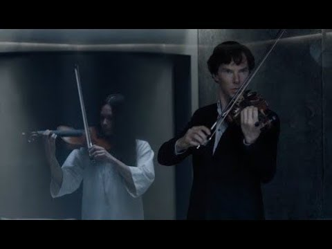 Sherlock plays the violin for the Eurus (Sherlok 4: The final problem)