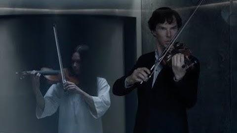Sherlock plays the violin for the Eurus (Sherlok 4: The final problem)