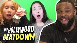 Tyron Woodley Reacts to Lil Tay EXPOSED | The Hollywood Beatdown